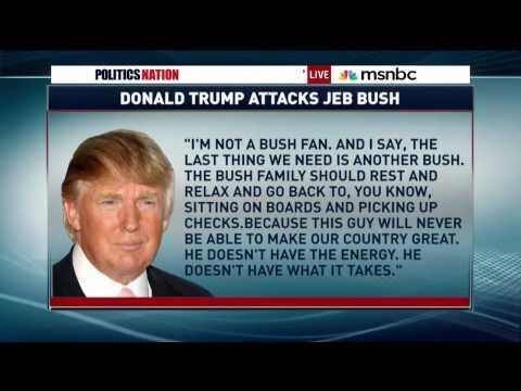 Angela Rye talks Donald Trump w MSNBC's Rev. Al
