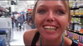 Miracles at Walmart - Deaf begin to hear when she is delivered from a demon...