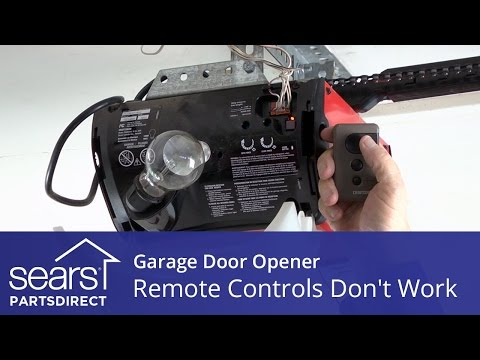 Garage Door Help How To Program Your Garage Door Remo