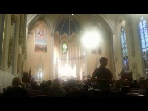 Emmanuel Catholic Church First Sunday Advent Hymn People Look East