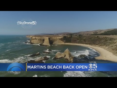 Martins Beach Near Half Moon Bay Reopened After Long Fight With Tech Exec