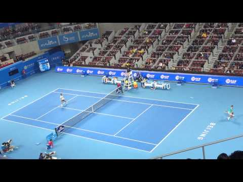 Power slam by Martin Klizan @Beijing #ChinaOpen2014