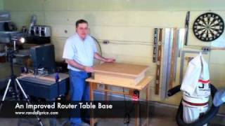 An Improved Router Table Base