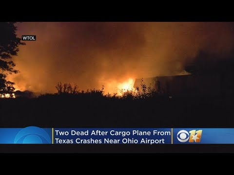 2 Dead After Cargo Plane From Texas Crashes, Burns Near Airport In Ohio