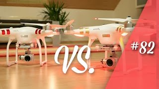 Dji phantom 3 standard - vs - dji phantom 3 professional  (teil 3/3) // deutsch // in 4k // #82