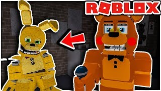 Five Nights at Freddy's Ultimate Custom Night RP - FNAF Roblox Gameplay