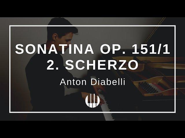 Sonatina Op. 151/1 - 2. Scherzo (Allegro) von Anton Diabelli