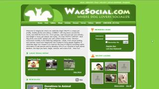 A Facebook For Dog Lovers Unleashed- Wagsocial! Win $100!