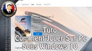 Tuto Comment Installer Un Jeu Xbox Sur Pc Pour Jouer - Ex Forza Horizon 3 Pc