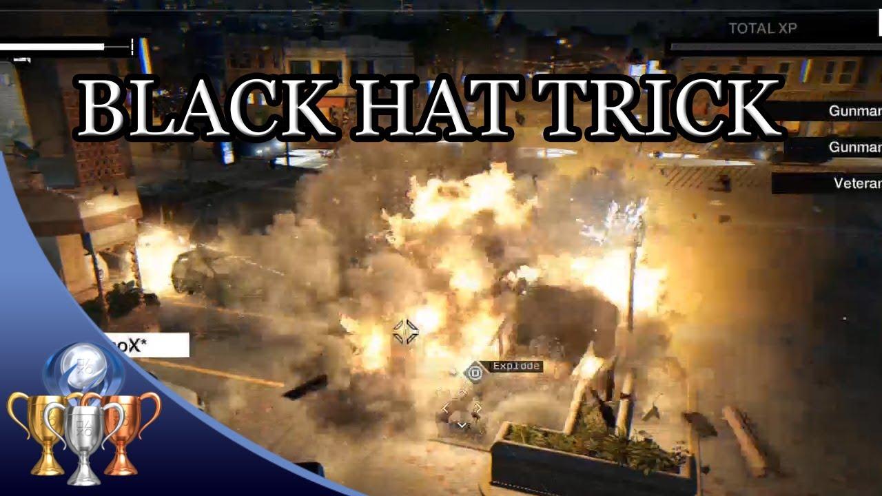 Watch Dogs Black Hat Trick