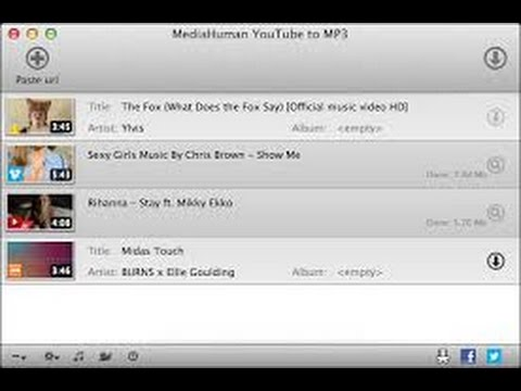 How To Download .mp3 Files On Mac From Youtube 2017