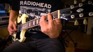 Metallica - Blackened Guitar Cover