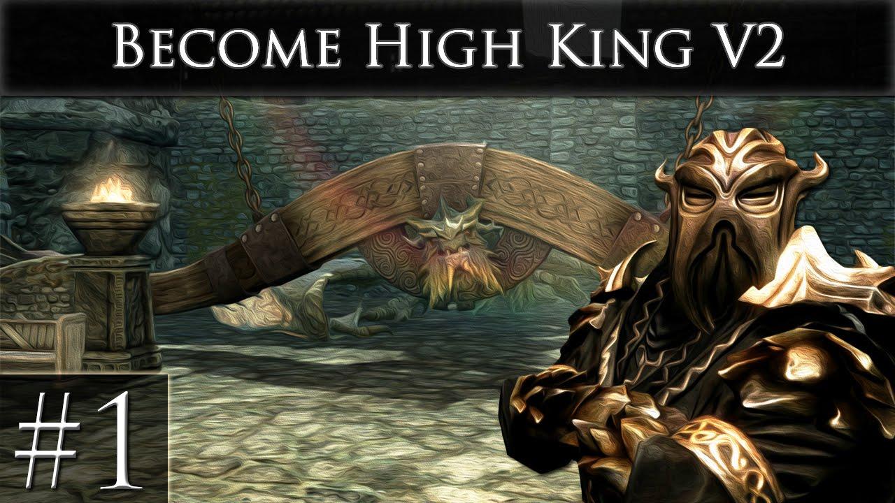 become high king of skyrim v2 xbox one