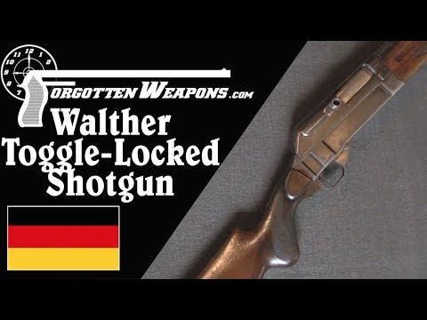 Walther Toggle-Locked Semiauto Shotgun (ouch!)