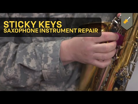 Sticky Keys: Saxophone Instrument Repair