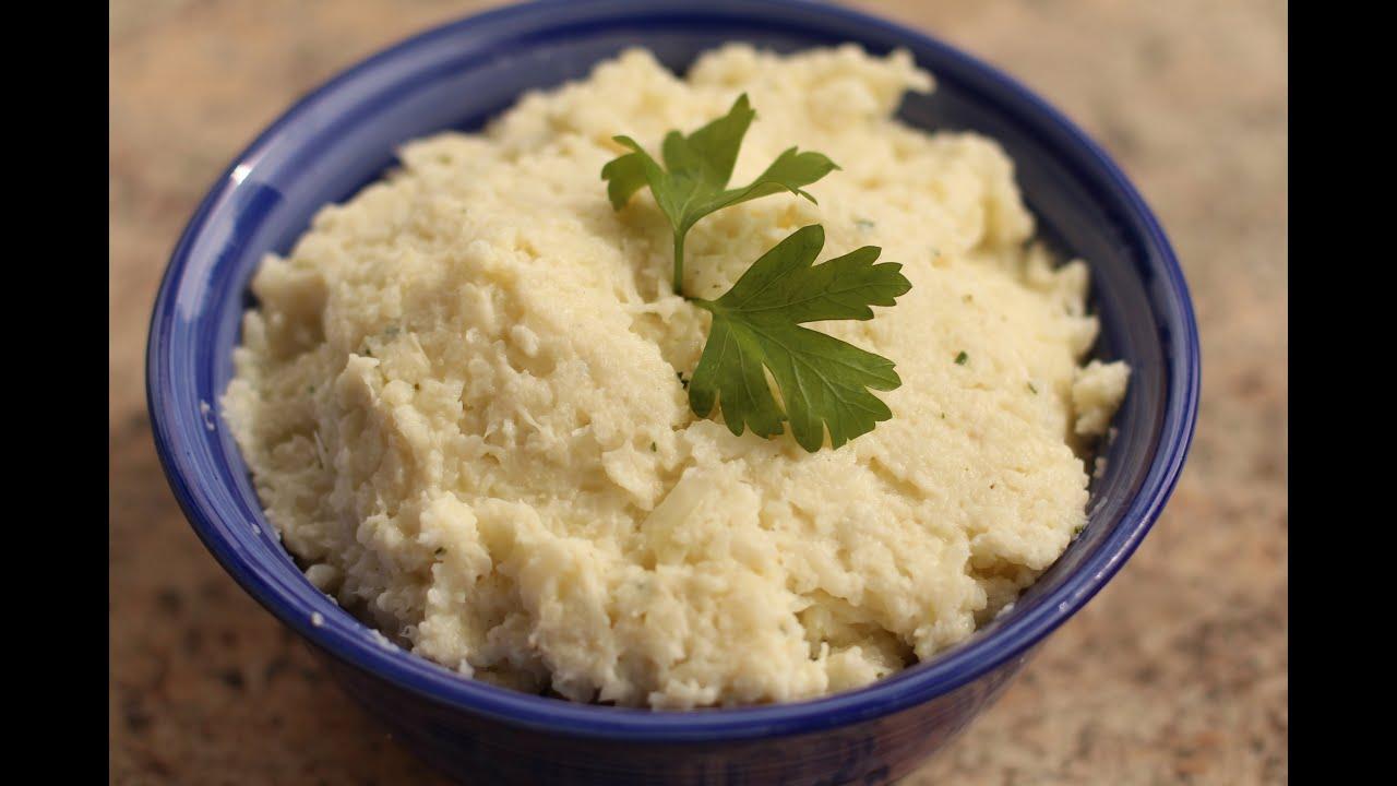 Healthy Cauliflower Mash Tastes Like Mash Potatoes By Rockin Robin Youtube