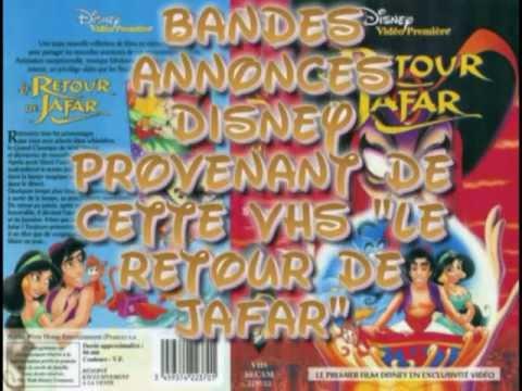 Bandes annonces vhs disney(Le retour de Jafar)