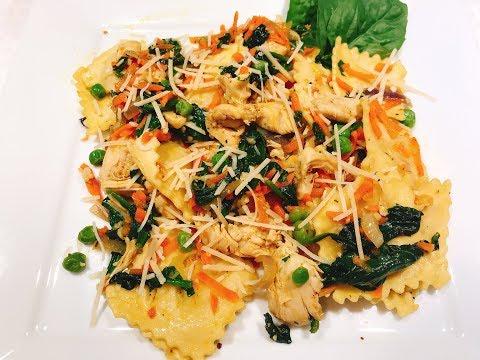 Chicken & Vegetable 4 Cheese Ravioli With Juliet :))
