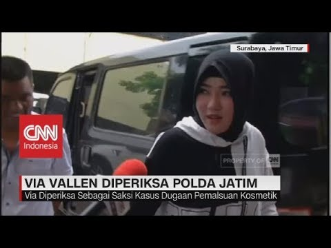 Via Vallen Diperiksa Polda Jatim terkait Kosmetik Ilegal Mp3