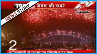 Reports on the amazing fire works in the Burj Khalifa on New Year