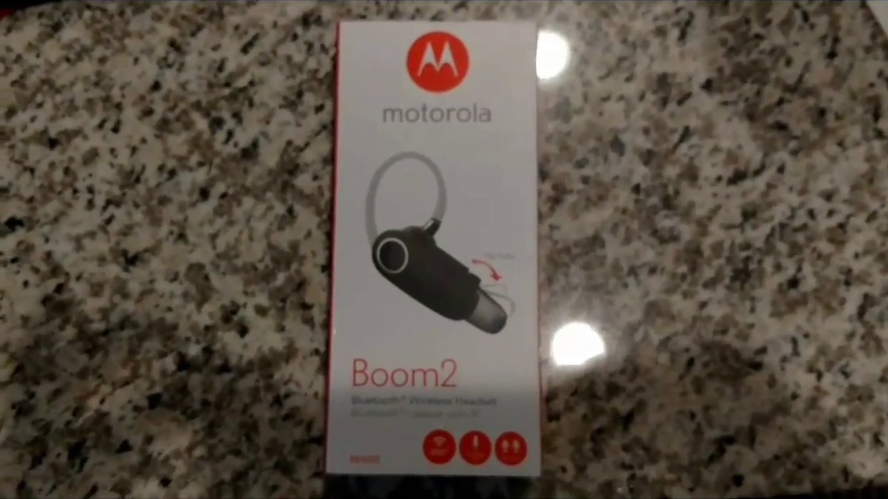 0f96acd891c Motorola Boom 2 Bluetooth earpiece review - YouTube