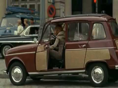 Renault 4 1968 Parisienne Dans La Prisonnire 1 Youtube