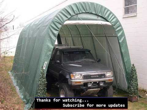 Portable Garage Ideas & Portable Garage Ideas - YouTube