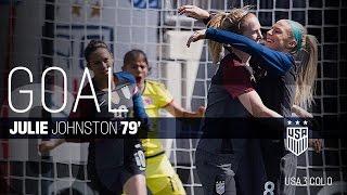 WNT vs. Colombia: Julie Johnston Second Goal - April 10, 2016