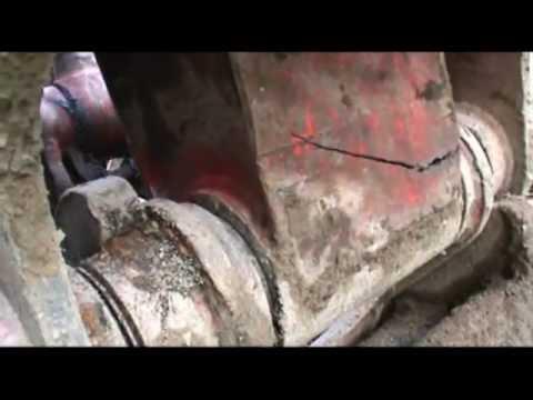 82ac367cf Welding repair to broken excavator