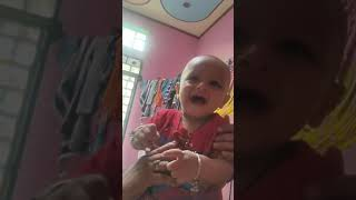 Our little star laughing 😂😂