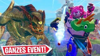 ROBOTER vs MONSTER   GANZER EVENT KAMPF!   Fortnite Battle Royale