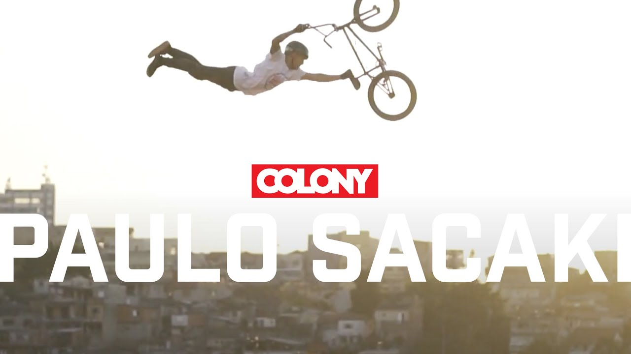 Paulo Sacaki - Colony BMX