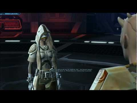 SWtOR Jedi Knight Story Cutscenes Pt. 24 [Chapter 3 / Belsavis / Light Side]