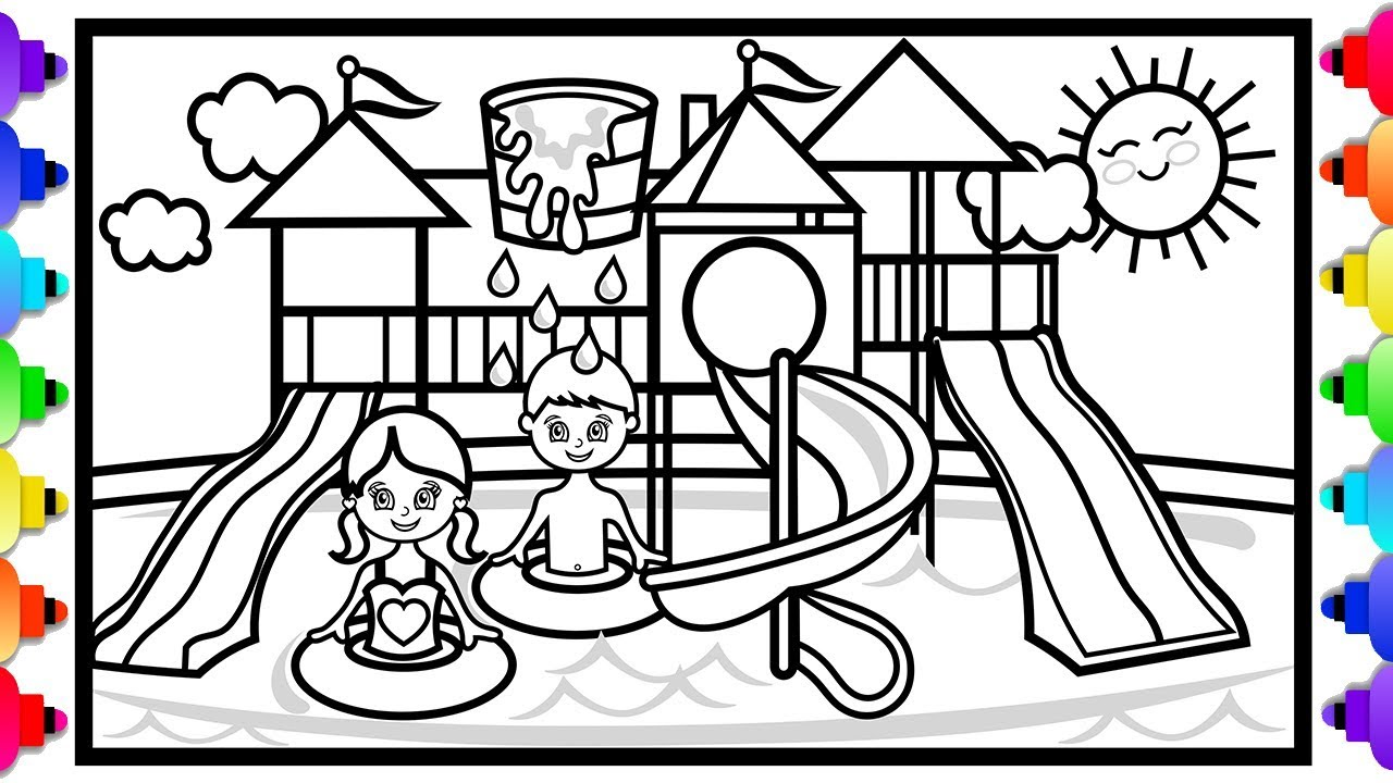 Water thiem coloring pages | 720x1280
