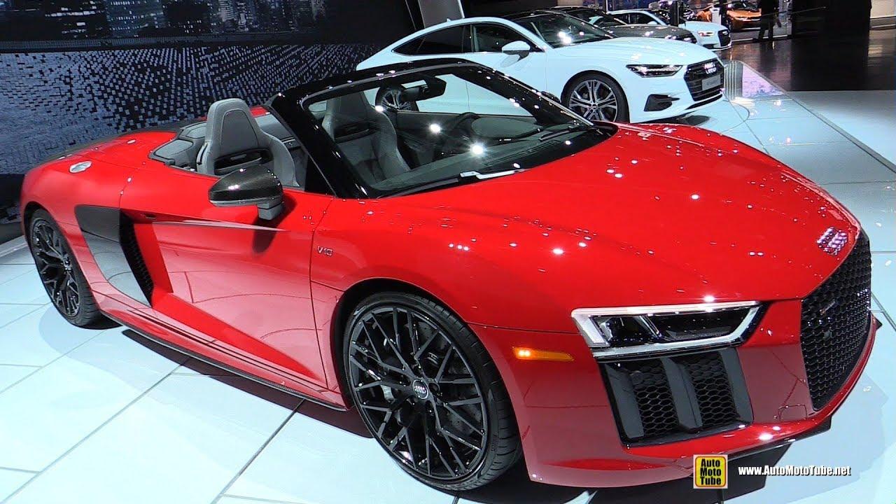 Audi R8 Interior Automatic 2018 Audi R8 V1...