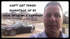 How to Deal with Insurance Company on Wrecked, Salvage, Rebuilt Auto after wreck