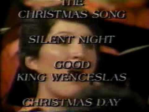 1988 Mormon Tabernacle Choir Christmas Celebration Album Commercial