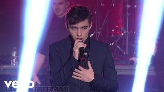 The Wanted - Warzone (Live on Letterman)