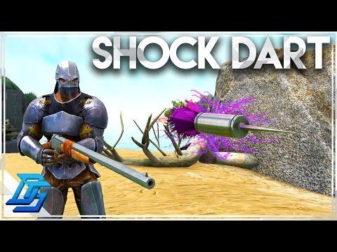 Ark Survival Evolved - How To Tame Tips  Pt.1, Shock Tranquilizer Darts