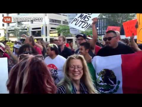 Outrageous violence against Trump supporters