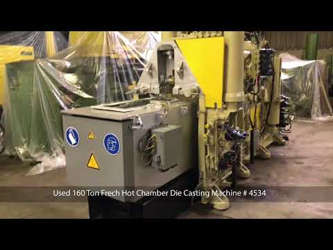Used 160 Ton Frech Hot Chamber Die Casting Machine # 4534