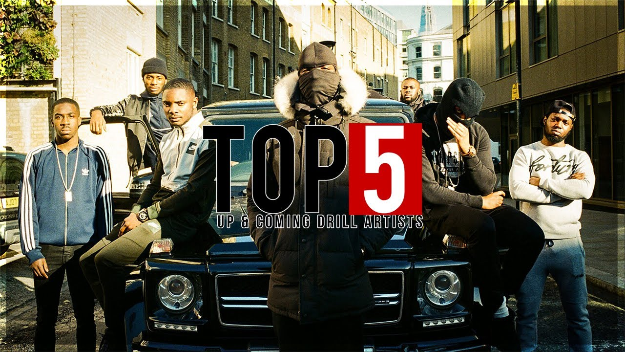 Top 5 Up & Coming UK Drill Rappers 2019