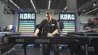 Korg Kronos & Kronos LS @ Musikmesse 2017