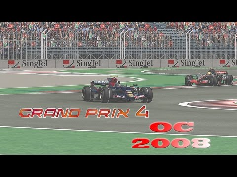 GP4 offline championship season 2008:round 4:Spanish gp highlights