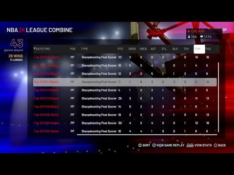 2K League Combine Window 5  |  Top Post Scorer  |  #2KLCombine