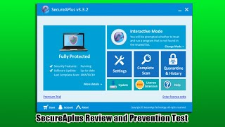 SecureAplus Review and Prevention Test