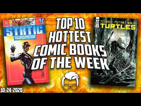 Comic Books Shooting Up In Price! The Top 10 Hottest Trending Comic Books In The Market This Week