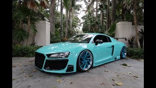 I GOT A CRAZY CUSTOM TUNE ON MY CAR! (AUDI R8)