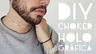 Como fazer uma choker holográfica | DANIEL MOONEY | Daily vlog