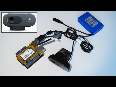 Как подключить вебкамеру к Arduino для трансляции видео с помощью Dragino Yun Shield